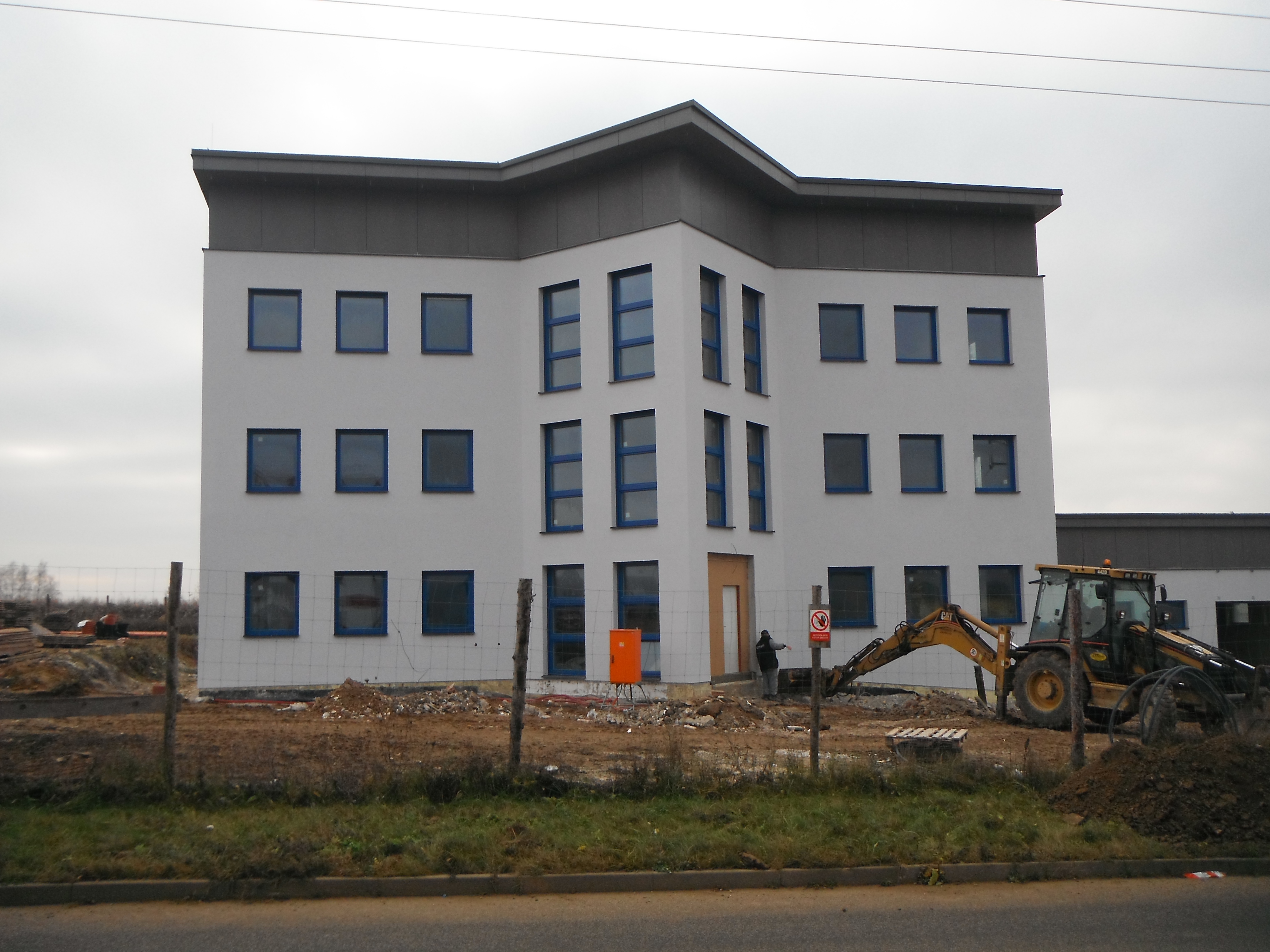 MICRORISC - dokončená stavba