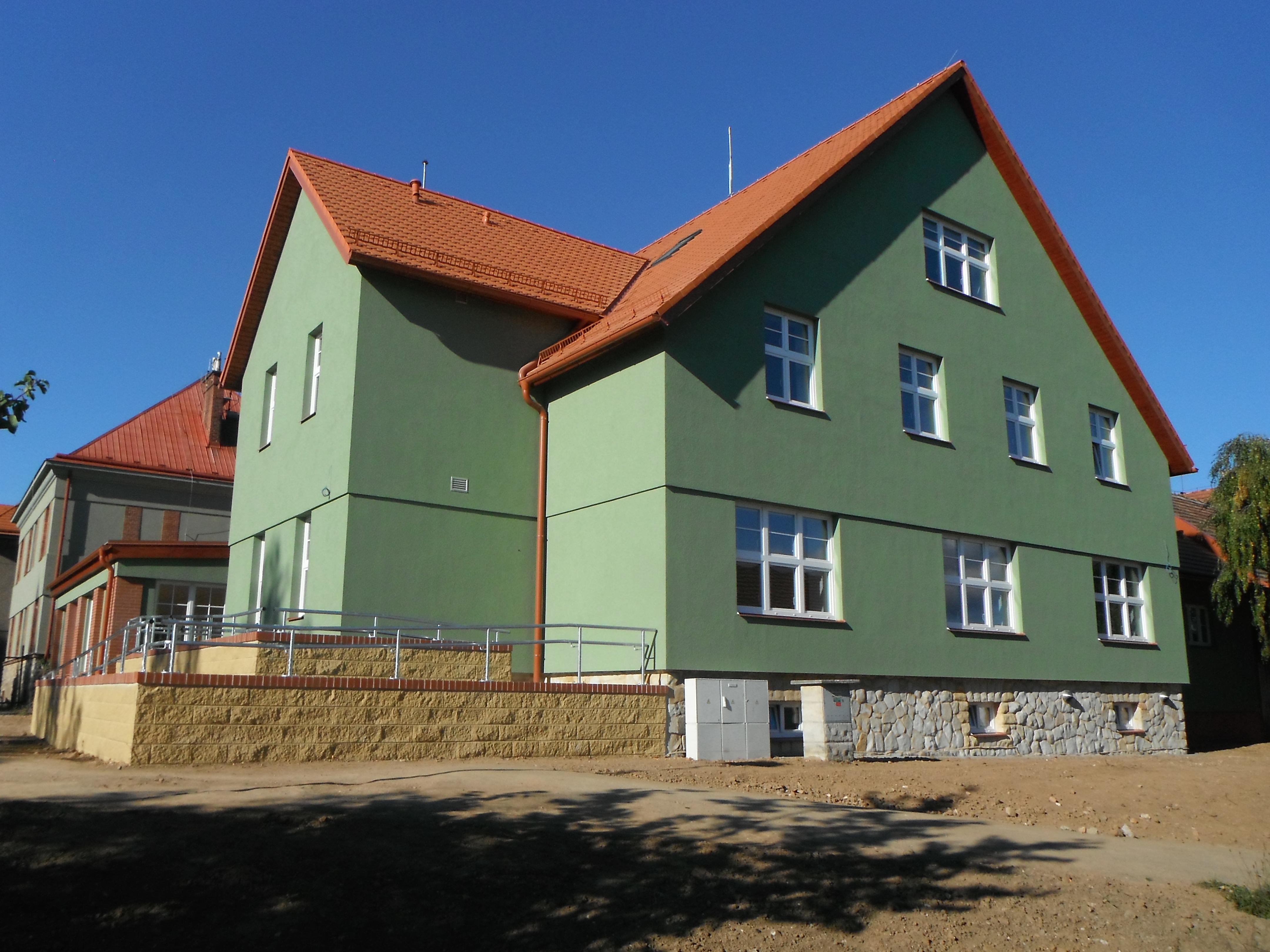 Stacionář Soudná - dokončená stavba